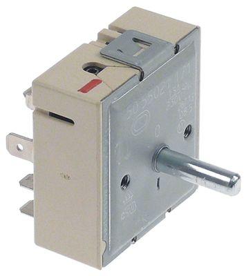 ζημενστάτης EGO  230V 13A διπλό κύκλωμα κατεύθυνση περιστροφής δεξιά ø άξονα 6x4,6 mm