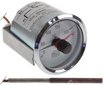 θερμοστάτης Μέγ. Θ 250°C εύρος θερμοκρασίας 0-250 °C 1-πόλοι 1CO  16(4) A