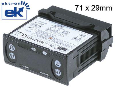 ηλεκτρονικός ελεγκτής EKTRON  τύπος REK31ED-0021  μετρήσεις στερέωσης 71x29 mm 230V τάση AC