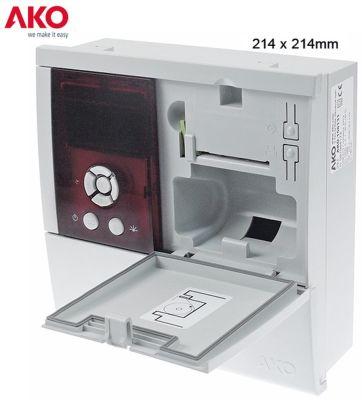 καταγραφικό AKO  τύπος AKO-15752  μετρήσεις στερέωσης 214x214 mm παροχή 100-240 VAC
