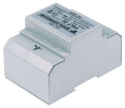 μετασχηματιστής κύρια τάση 230VAC  δευτερεύον 12VDC  50/60 Hz ράγα DIN 1,5A
