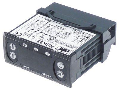 ηλεκτρονικός ελεγκτής EKTRON  τύπος REK33-1021  μετρήσεις στερέωσης 71x29 mm 230V τάση AC  PTC