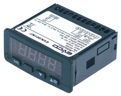 ηλεκτρονικός ελεγκτής 230V μετρήσεις στερέωσης 71x29 mm NTC/PTC