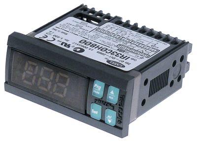ηλεκτρονικός ελεγκτής CAREL  IR33C0HB00  μετρήσεις στερέωσης 71x29 mm