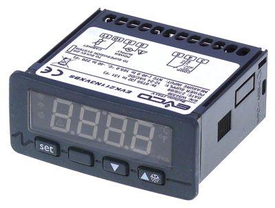 ηλεκτρονικός ελεγκτής EVCO  τύπος EVK211N3VXBS  μετρήσεις στερέωσης 71x29 mm 45627V τάση AC/DC