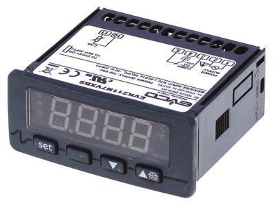 ηλεκτρονικός ελεγκτής EVCO  τύπος EVK211N7VXBS  μετρήσεις στερέωσης 71x29 mm 230V τάση AC