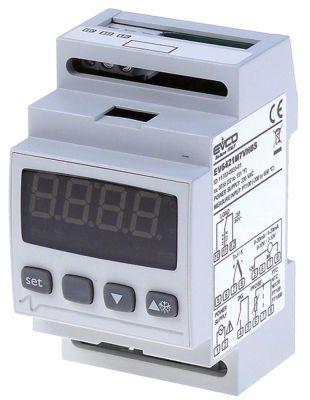 ηλεκτρονικός ελεγκτής EVCO  τύπος EV6421  230V τάση AC  NTC/PTC/Pt100/Pt1000/TC(J,K)/mV/mA