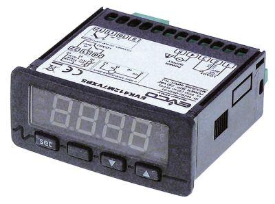 ηλεκτρονικός ελεγκτής EVCO  EVK412  μετρήσεις στερέωσης 71x29 mm