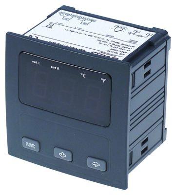 ηλεκτρονικός ελεγκτής EVCO  EV9412J6  μετρήσεις στερέωσης 92x92 mm