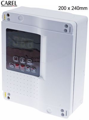 refrigeration controller for walk-in fridges CAREL  MD33D5EN00  μετρήσεις στερέωσης 200x240 mm