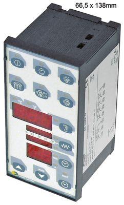 ηλεκτρονικός ελεγκτής EVCO  EK354AJ7  μετρήσεις στερέωσης 66,5x138 mm