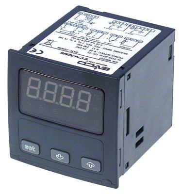 ηλεκτρονικός ελεγκτής EVCO  EV7402  μετρήσεις στερέωσης 66,5x66,5 mm