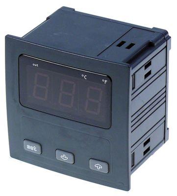ηλεκτρονικός ελεγκτής EVCO  EV9411C6  μετρήσεις στερέωσης 92x92 mm