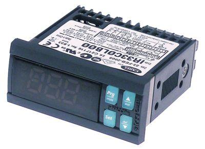 ηλεκτρονικός ελεγκτής CAREL  IR33C0LB00  μετρήσεις στερέωσης 71x29 mm