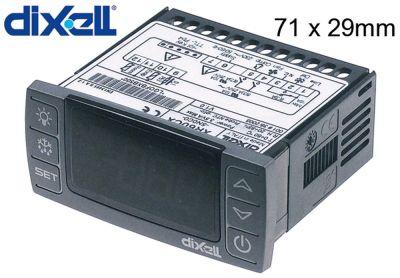 ηλεκτρονικός ελεγκτής DIXELL  XR60CX-5N0C0 μετρήσεις στερέωσης 71x29 mm 230V τάση AC