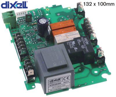 πλακέτα ισχύος DIXELL  XW260K-5N0C0 μετρήσεις στερέωσης 90x83 mm