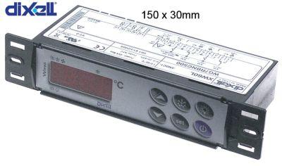 ηλεκτρονικός ελεγκτής DIXELL  XW60L-5N0C1 μετρήσεις στερέωσης 150x30 mm