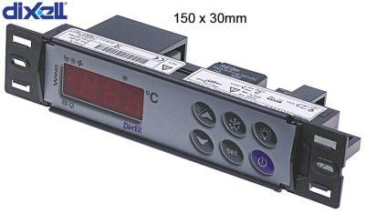 ηλεκτρονικός ελεγκτής DIXELL  XW20LS-5N0C1 μετρήσεις στερέωσης 150x30 mm