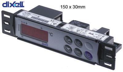 ηλεκτρονικός ελεγκτής DIXELL  XW60LS-5N0C1 μετρήσεις στερέωσης 150x30 mm