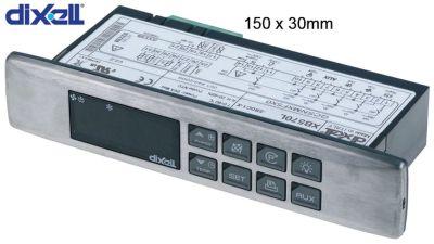 ηλεκτρονικός ελεγκτής DIXELL  XB570L-5R0C1-X μετρήσεις στερέωσης 150x30 mm