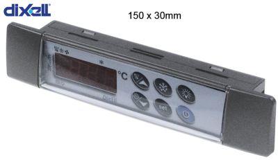 πληκτρολόγιο DIXELL  T640  μετρήσεις στερέωσης 150x30 mm