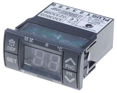 ηλεκτρονικός ελεγκτής EUREMA  τύπος TE32E  μετρήσεις στερέωσης 64x32 mm 230V τάση AC  PTC