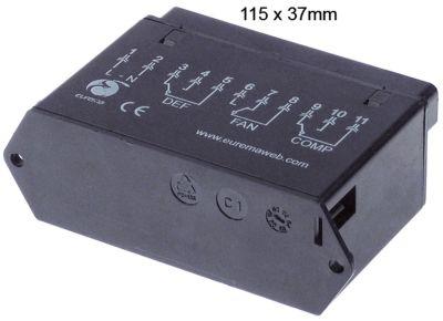 μονάδα ισχύος EUREMA  τύπος EWEM036  μετρήσεις στερέωσης 115x37 mm 230V τάση AC   -