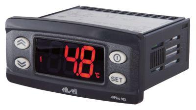 ηλεκτρονικός ελεγκτής ELIWELL  τύπος IDPlus 902  μετρήσεις στερέωσης 71x29 mm 230V τάση AC