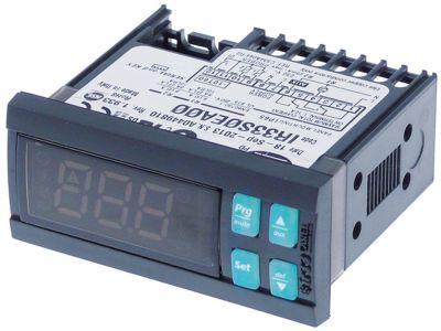 ηλεκτρονικός ελεγκτής CAREL  IR33S0EA00  μετρήσεις στερέωσης 71x29 mm
