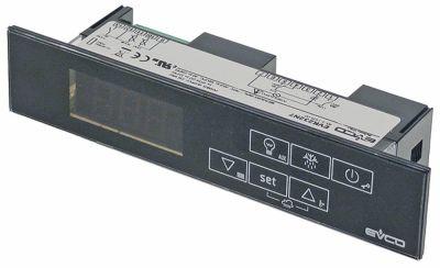 ηλεκτρονικός ελεγκτής EVCO  τύπος EVR232N7  μετρήσεις στερέωσης 138x29 mm 230V τάση AC
