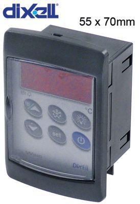 ηλεκτρονικός ελεγκτής DIXELL  XW20VS-5N0C0 μετρήσεις στερέωσης 55x70 mm