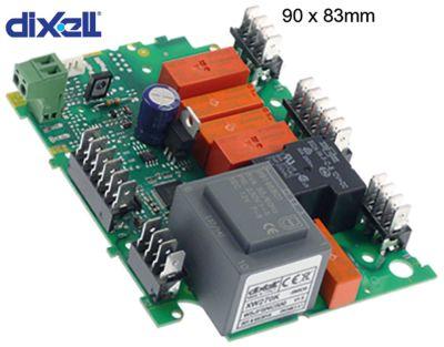 πλακέτα ισχύος DIXELL  XW270K-5N0C0 μετρήσεις στερέωσης 90x83 mm