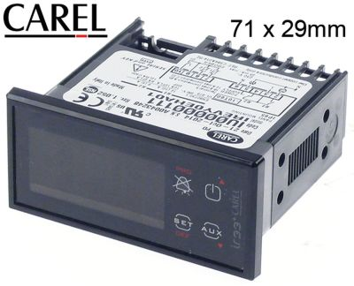 ηλεκτρονικός ελεγκτής CAREL  IREVY0EHA01  μετρήσεις στερέωσης 71x29 mm