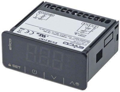 ηλεκτρονικός ελεγκτής EVCO  τύπος EV3B31N7 Touch  μετρήσεις στερέωσης 71x29 mm 230V τάση AC  NTC