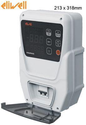 ηλεκτρονικός ελεγκτής ELIWELL  τύπος EWRC 500 NT 2HP  μοντέλο RTC HACCP 4D W/B