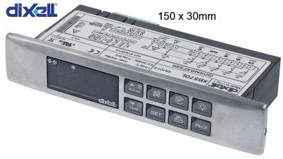 ηλεκτρονικός ελεγκτής DIXELL  XB570L-5N1C1-X μετρήσεις στερέωσης 150x30 mm
