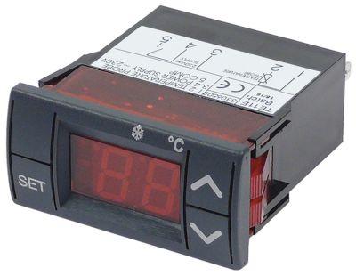 ηλεκτρονικός ελεγκτής EUREMA  τύπος TE11E  μετρήσεις στερέωσης 58x25 mm 230V τάση AC  PTC