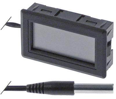 θερμόμετρο μετρήσεις στερέωσης 45x26 mm μετρήσεις πρόσοψης 48x28,5 mm διαμ. μπαταρίας πίσω
