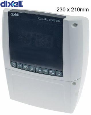 ρυθμιστής θαλάμων ψύξης DIXELL  XLR170-5N1C2 μετρήσεις στερέωσης 210x230x87 mm 230V τάση AC