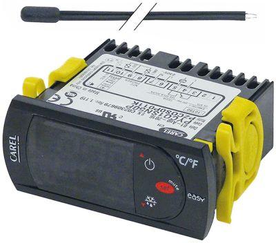ηλεκτρονικός ελεγκτής CAREL  μετρήσεις στερέωσης 71x29 mm 230V τάση AC  NTC