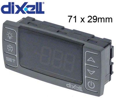 πληκτρολόγιο DIXELL  CX620-000N0 μετρήσεις στερέωσης 71x29 mm