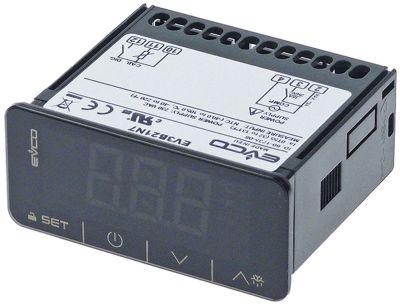 ηλεκτρονικός ελεγκτής EVCO  τύπος EV3B21N7 μετρήσεις στερέωσης 71x29 mm 230V τάση AC