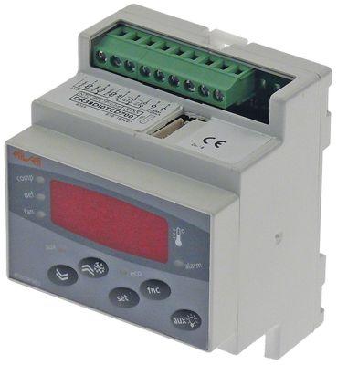 ηλεκτρονικός ελεγκτής ELIWELL  τύπος EWDR983 μοντέλο DR38DI0TCD700 μετρήσεις στερέωσης 70x85 mm