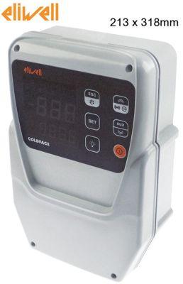 ηλεκτρονικός ελεγκτής ELIWELL  τύπος EWRC 500 NT HACCP μοντέλο RCS3UDTX20700