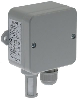 αισθητήριο υγρασίας εύρος υγρασίας 0-100 % παροχή 9-28VDC έξοδος 4-20mA  Μ αισθητηρίου 34mm