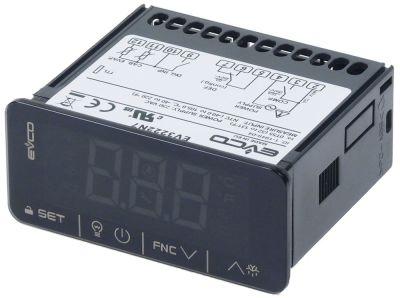 ηλεκτρονικός ελεγκτής EVCO  τύπος μετρήσεις στερέωσης 71x29 mm 230V τάση AC