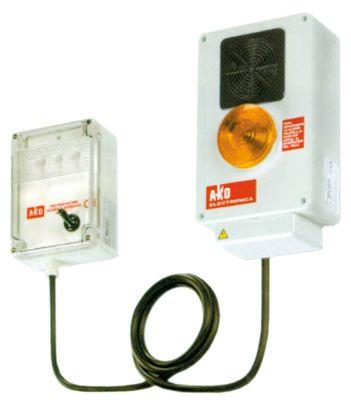 συσκευή συναγερμού 230VAC  εύρος θερμοκρασίας +5 έως +40/-50 έως +40°C