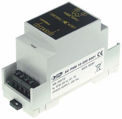 μετασχηματιστής τύπος EC-PSM10  EVCO  παροχή 230VAC παροχή 12VDC