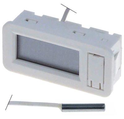 θερμόμετρο τύπος TPM-30  μετρήσεις στερέωσης 58x25 mm