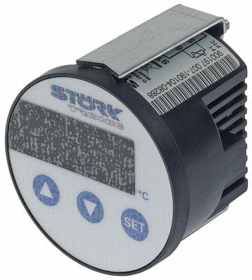 ηλεκτρονικός ελεγκτής STÖRK-TRONIK  τύπος ST64-31.10  μετρήσεις στερέωσης 60mm 230V